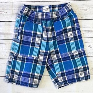 4/$25 Children's Place plaid elastic adj shorts